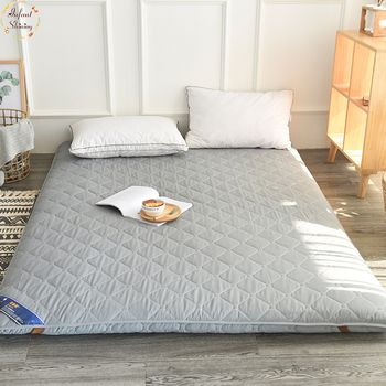 Infant Shining 5CM Tatami Mattress Pure Color Thickening Mattress Floor And Bed Mat Sanding Stereo Mattress Multi-size Bed Mat