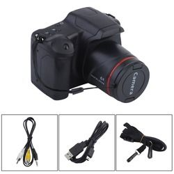 Portable HD cámara Digital CMOS Manual medio/largo enfoque Zoom óptico SLR operación Home uso Anti-sacudida DV videocámara