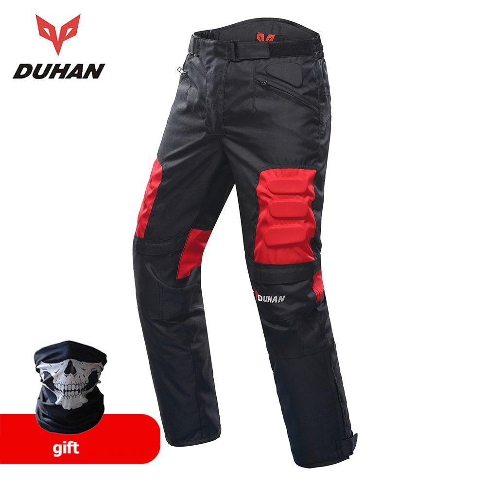 DUHAN Moto Pantalon Hommes Moto Motocross Pantalon Enduro Pantalon Motocross Off-Road Racing Sport Genou De Protection Pantalon