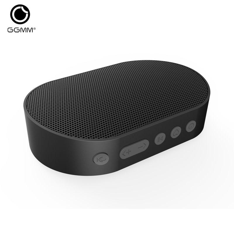 GGMM E2 Portable Haut-Parleur Bluetooth Haut-Parleur WIFI Sans Fil Haut-Parleur de Musique En Plein Air Haut-parleurs Mains Libres Appels Travail avec Amazon Alexa