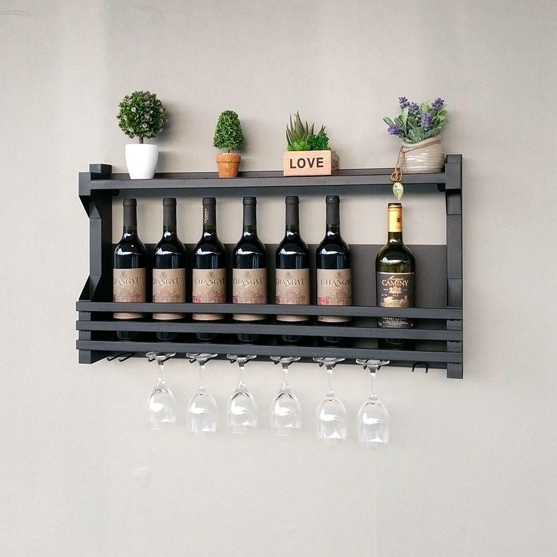 Kreative Eisen Wein Rack Hängen Wein Halter Lagerung Regal Becher Glas Rahmen Wein Halter