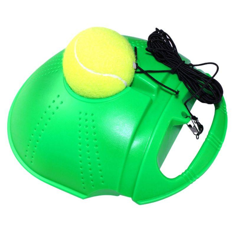 Rebound Trainer Set Trainingshilfen Praxis Partner Ausrüstung 2 Farbe Tennis Training Partner für Anfänger Aktualisiert Neue Drop ship