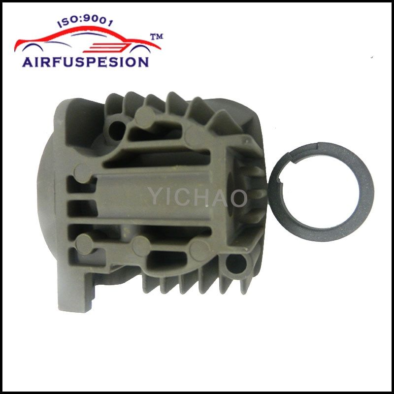 Free Shipping Air Compressor Pump Cylinder With ring for X5 E53 C6 Q7 VW Touareg Land Rover L322 Cayenne 7L0698007D 4L0698007A