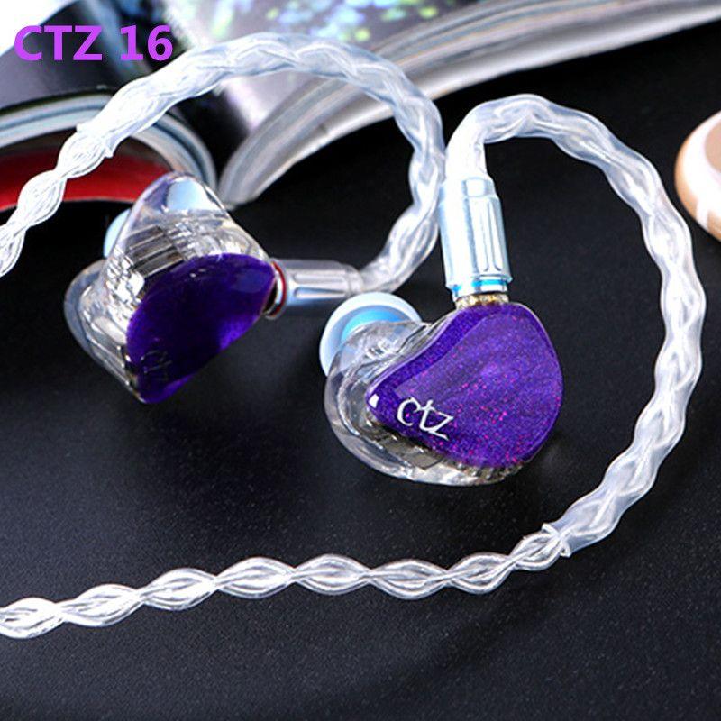 Neueste CTZ 32BA Einseitige 16BA in Ohr Kopfhörer Nach Maß Ausgewogene Anker Um Ohr Kopfhörer Mit 0,78mm 2PIN Stecker kopfhörer