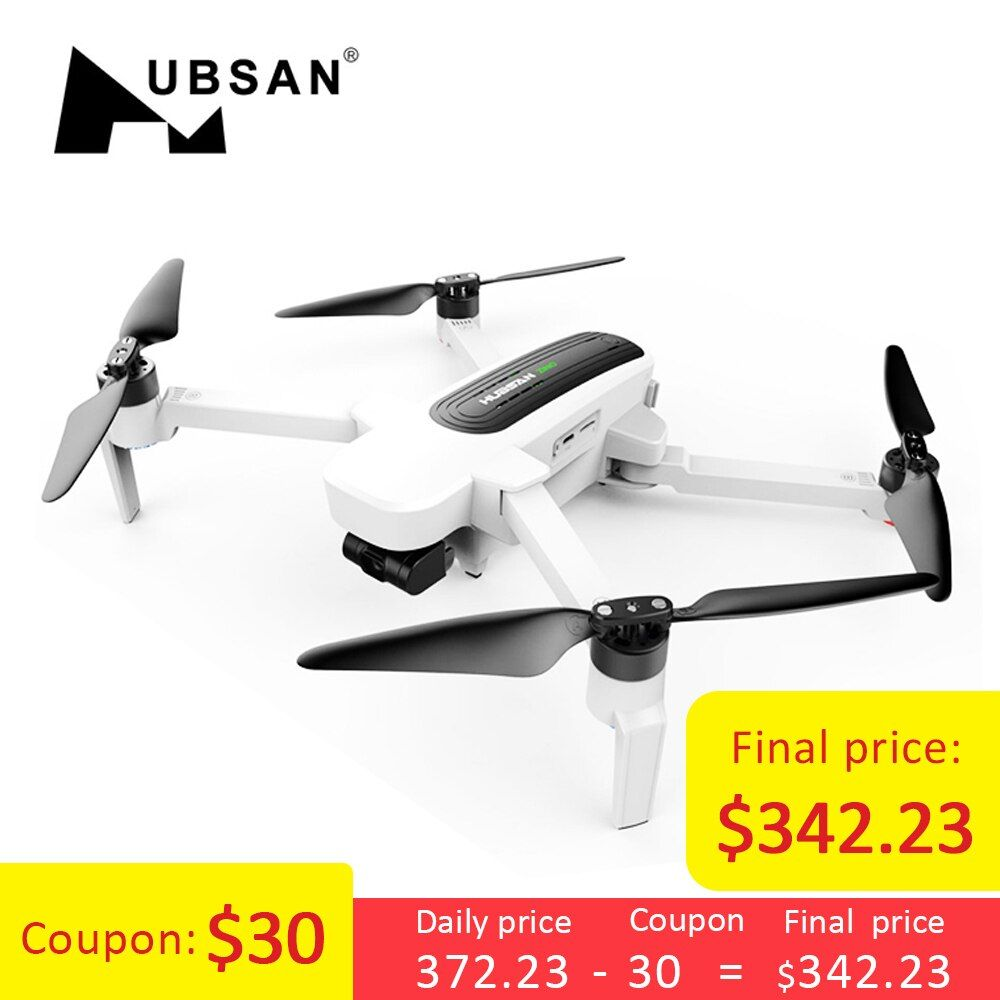Hubsan H117S Zino GPS 5.8G 1KM Foldable Arm FPV with 4K UHD Camera 3-Axis Gimbal RC Drone Quadcopter RTF High Speed