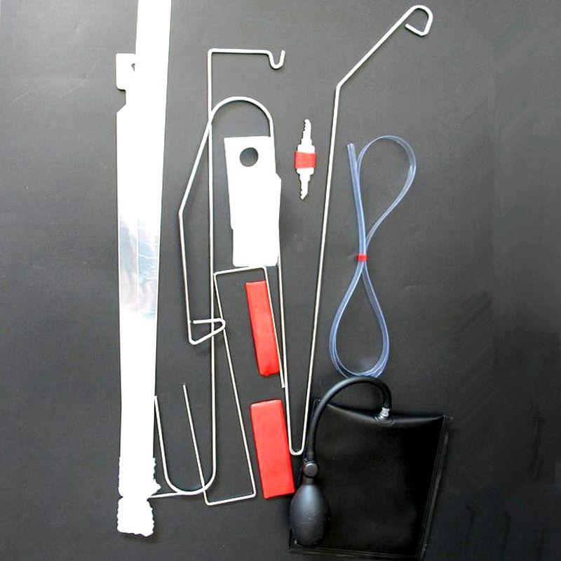 Universal Emergency Open Unlock Tool Kit Car Door Key Lost Lock Out + Air Pump