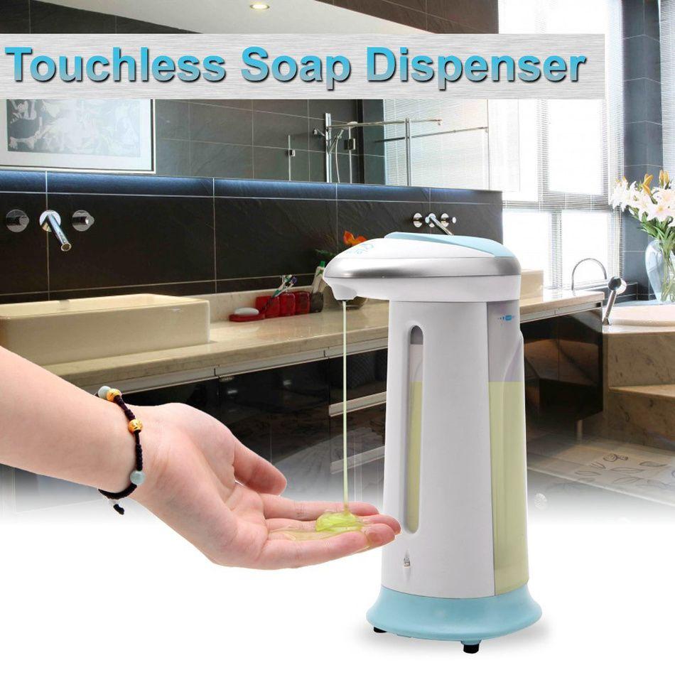 400Ml Automatic Liquid Soap Dispenser ABS Plastic Sensor Touchless Dispensador De Jabon Best Sale Distributeur De Savon Liquide
