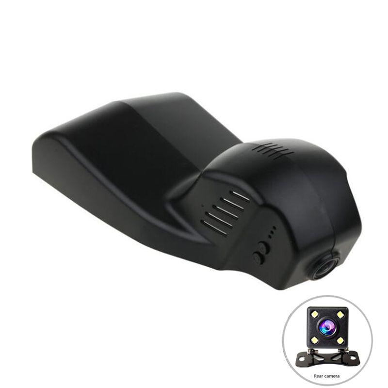 Novatek 96655 HD1080P WiFi APP Dual Auto DVR Dash cam für BMW X1 F48 2016 MINI BMWX3 F25 F10 F30 f36 X5 F15/535i GT 2015 DVR