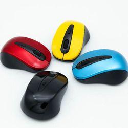 Hot Mini 2.4 GHz Wireless Optical Mouse Mice USB Receiver untuk PC Laptop Desktop Komputer Tablet