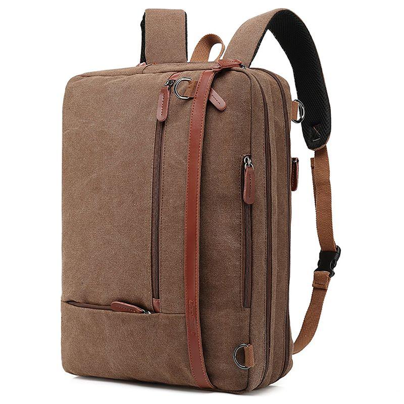 CoolBELL Convertible Backpack 17.3 Inch Large Capacity Computer Notebook Bag Waterproof Travel Rucksack For Men Women