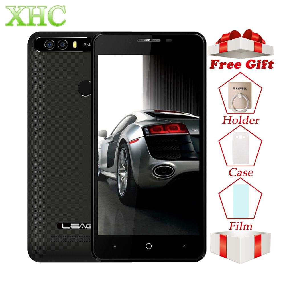 Original LEAGOO KIICAA POWER Smartphone 2GB/16GB Dual Back Cameras Fingerprint 5.0'' Android 7.0 MTK6580A Quad Core 3G Cellphone