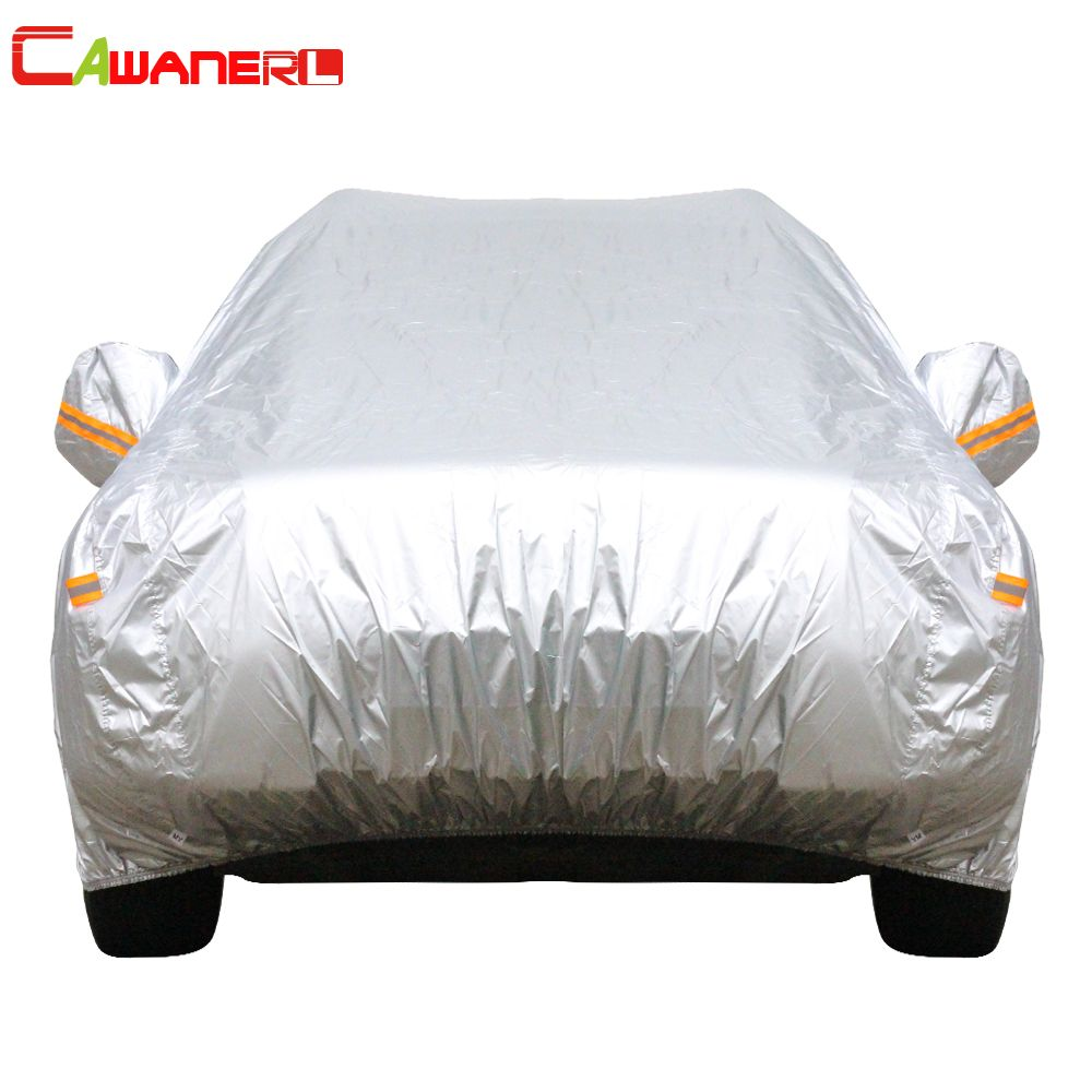 Cawanerl 13 Size Waterproof Car Cover SUV Auto Sedan Hatchback Sun Rain Frost Snow Dust Protection Anti UV Cover Car Accessories