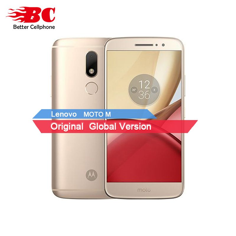 Original Motorola Moto M XT1662 Mobile Phone 4G LTE MTK Helio P10 Octa Core 5.5