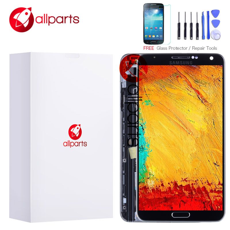 5.7'' AMOLED LCD For SAMSUNG Galaxy Note 3 LCD Display Note3 N9005 Touch Screen with Frame N9002 N9006 N9000 N900A