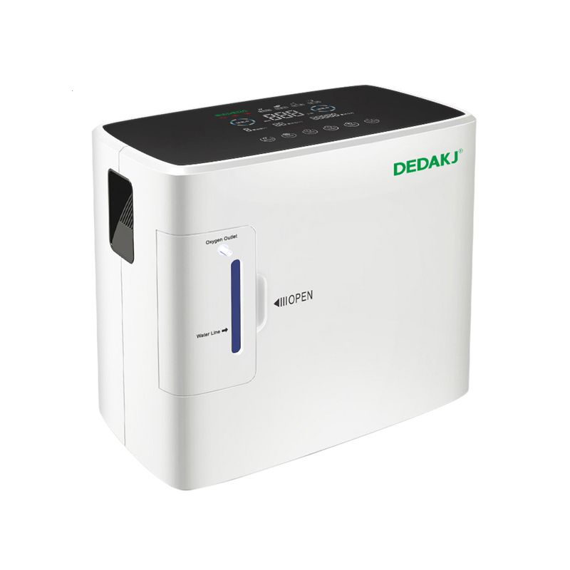 DEDAKJ DE-1S AC110V/220 V Tragbare Sauerstoff Konzentrator Generator Maschine 1-6L/min 30-90% Home Einstellbare Hohe qualität