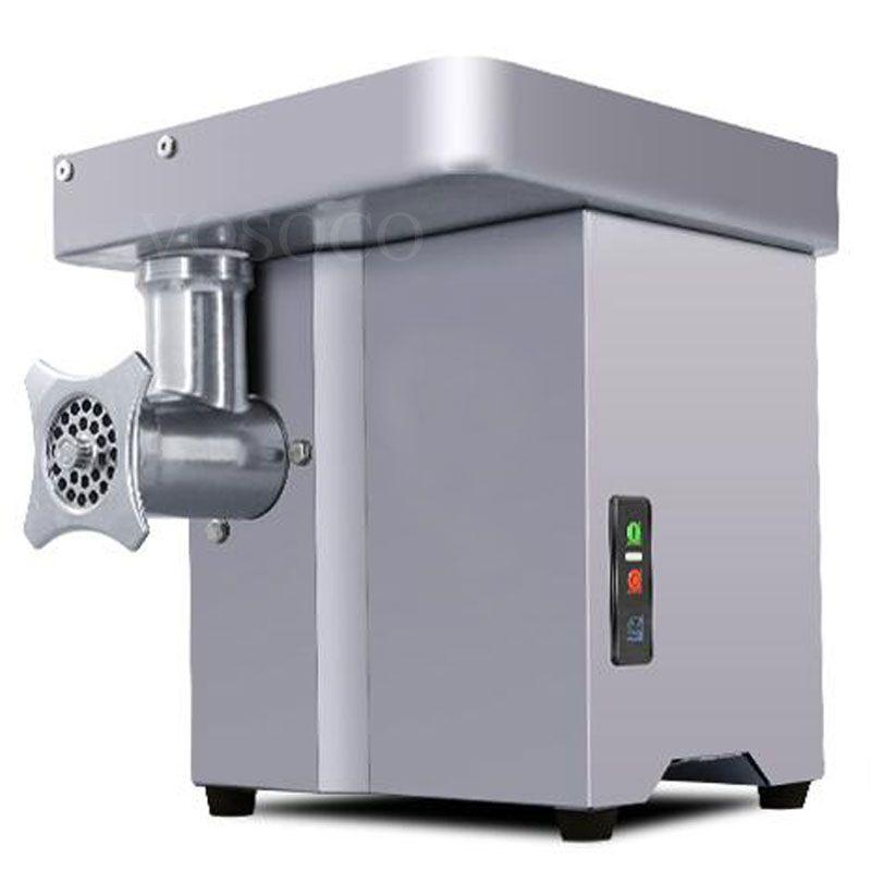 meat grinder mangler meat mincer Stainless steel table electric mincing machine meat chopper shredder 1100W 220V 150kg/h