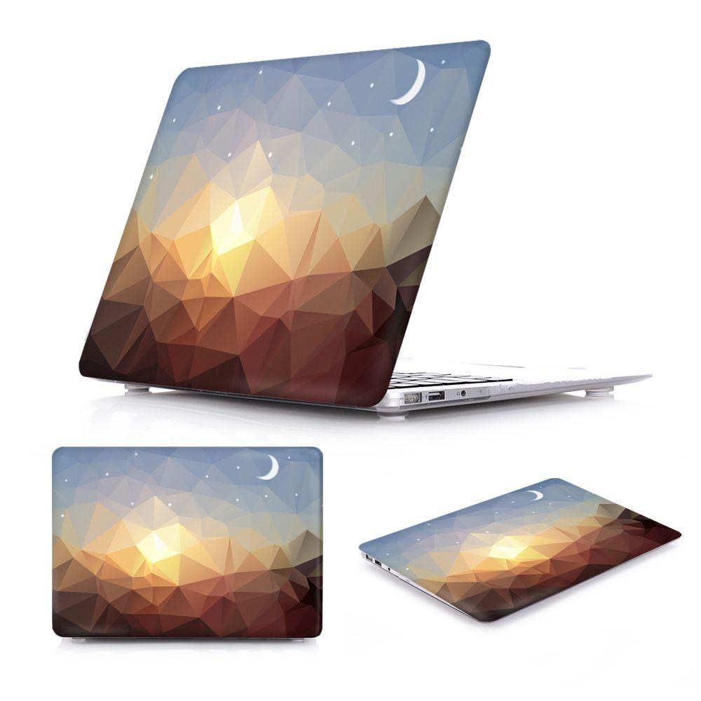 Nouvelle Incroyable Cas pour MacBook Air 13 De Luxe Irrégulière Cristal Motif Air 11 12 Couverture Rigide pour Macbook Pro Retina 13 15 cas