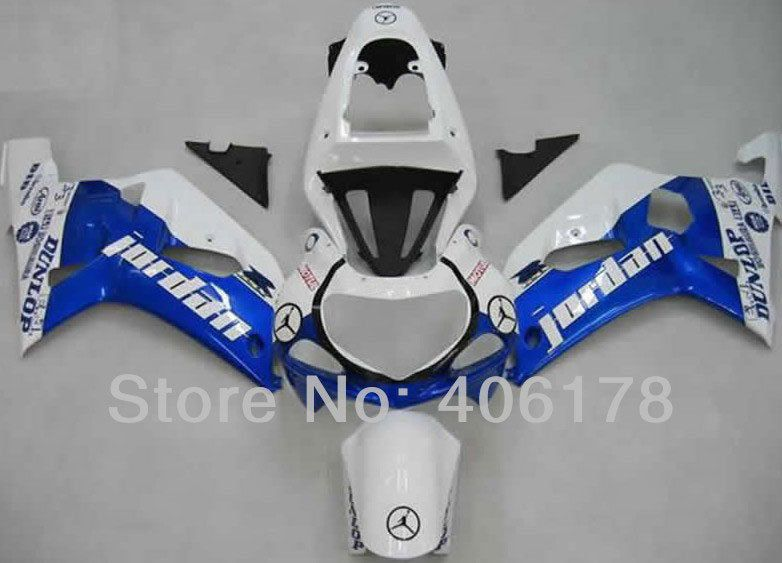 Heiße Verkäufe, k1 gsxr600/750 01 02 03 Verkleidung Für Suzuki GSXR600 GSXR750 2001 2002 2003 Jordan Motorrad verkleidung (Injection molding)