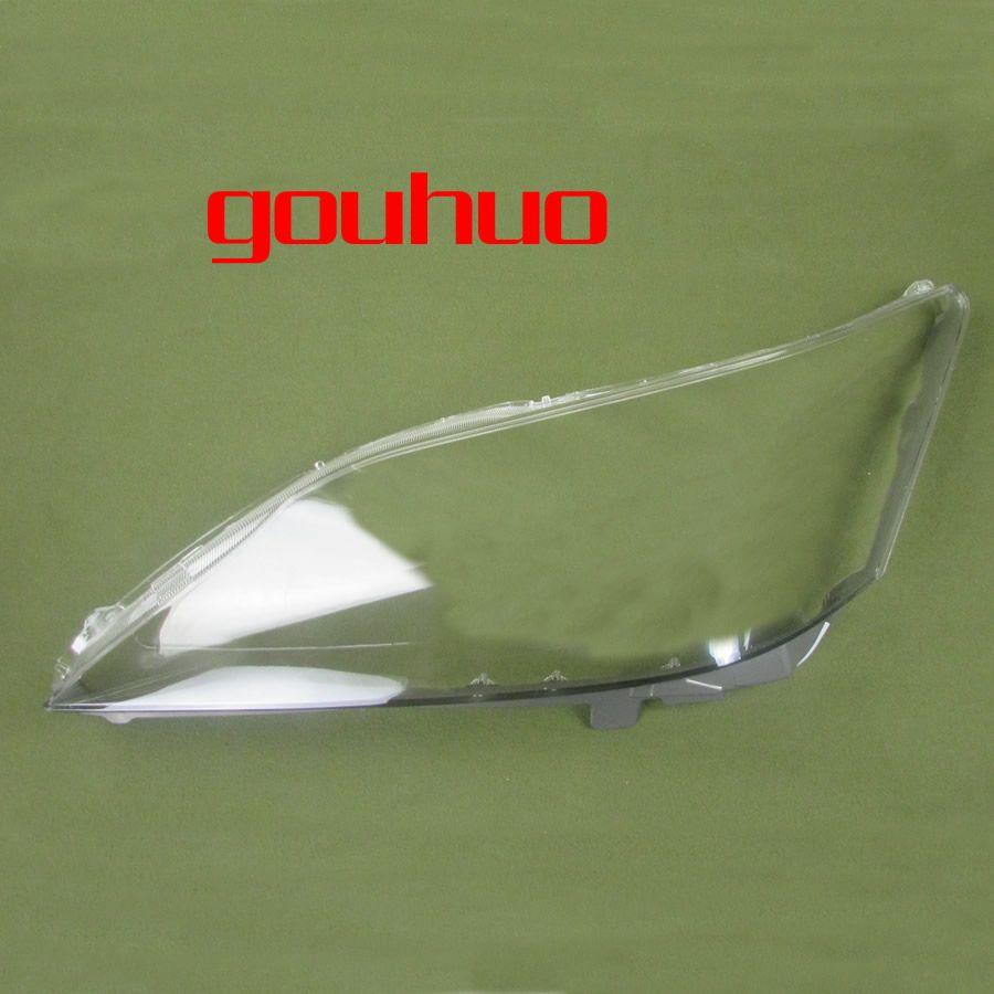 Für 09-11 Lexus ES240 ES350 scheinwerfer abdeckung haube abdeckung front lampe schatten scheinwerfer transparent lampenschirm scheinwerfer shell