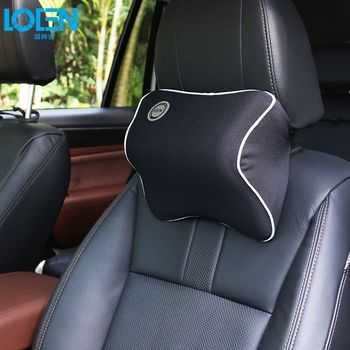 Car Seat Head Neck Rest Massage Memory Foam Cushion Support Headrest Pillow Car Seat Cover 6 Colors Universal Car Styling
