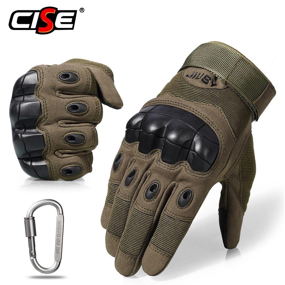 Écran tactile moto complet doigt gants Motocross équipement de protection moto course caoutchouc dur Knuckle extérieur pour hommes femmes
