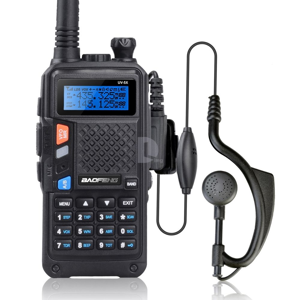 BAOFENG UV-5X Upgraded Version of Baofeng UV-5R UHF+VHF Two-Way Radio Walkie Talkie FM Function w/ Original Main Board P0015842