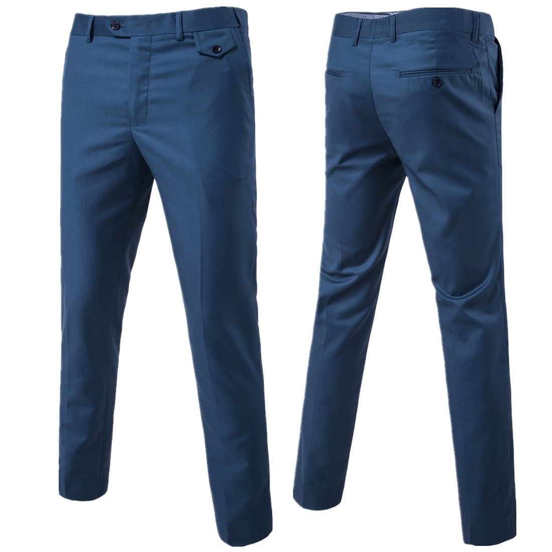 2018 New Fashion Mens Business Formal Suit Pants Slim Fit Men's new casual business trousers