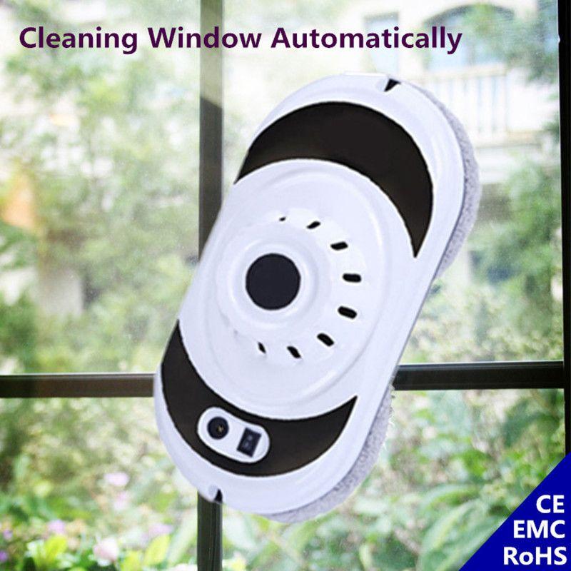 Ventana inteligente Robot de Limpieza Aspiradora Limpiador de Ventanas De Vidrio de Pie Mesa de Pared Con Control Remoto Ininterrumpida Proteger