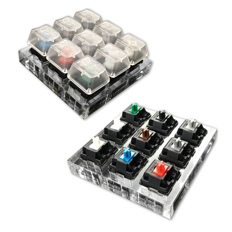 Cherry Sampler Cherry/Kailh/Gateron/Greetech/OTM Switches Testing Tool Mechanical Keyboard Switches Tester