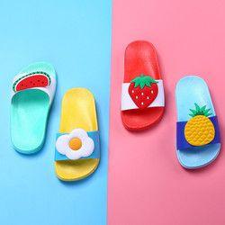 Bebé niños niñas zapatillas Niño del agua niños Chanclas Niño descalzo zapatos fruta natación verano para niños bebé
