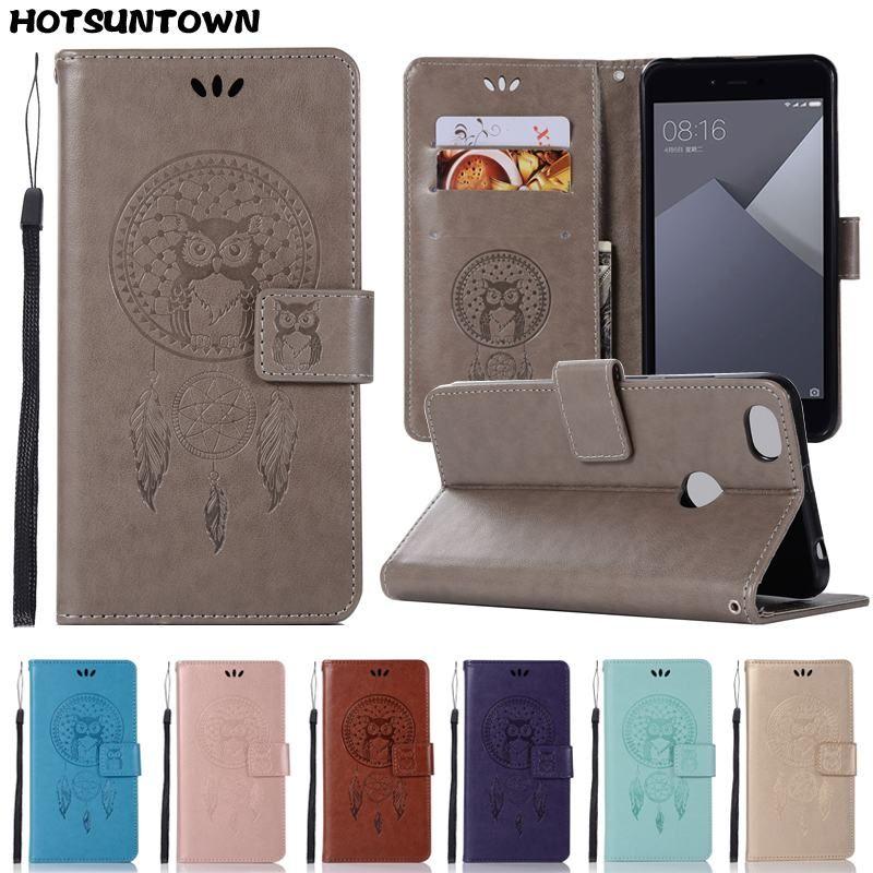Leather Wallet Case For Xiaomi Redmi Note 4 Case Flip Cover For Xiaomi Redmi Note 5A Phone Case Xiaomi Redmi 4X 4A 5 Plus 6 Pro