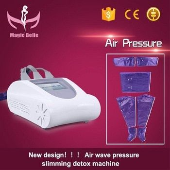 Professional salon use separated suit design lymph drainage body massage pressotherapy machine