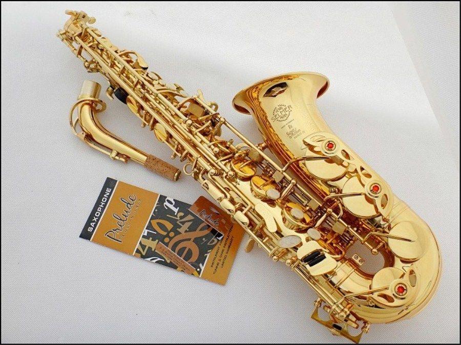 Hot New Selmer 802 Alto Saxophone Brand France Henri sax E Flat professional Gold Alto Playing saxophone musical instruments