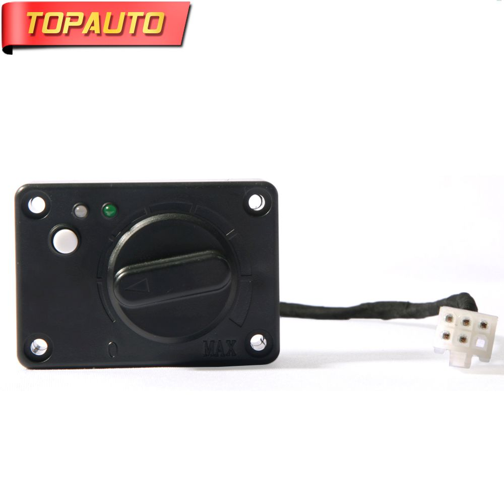 TopAuto Control Switch Connection 5Wires for Air Parking Heater Similar to Webasto Eberspacher Heater Car Truck Accessories