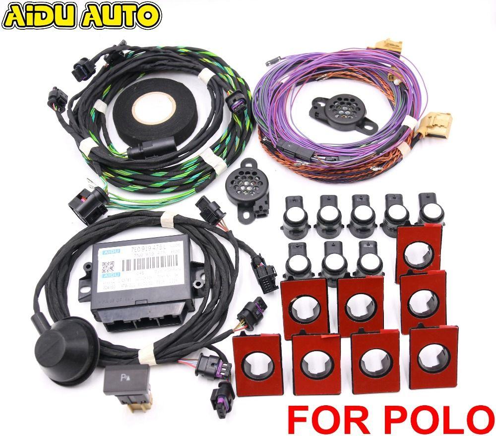 POLO PQ25 Park Pilot Parking Front and Rear 8K Sensor With OPS 7E0 919 475 J/L 7E0919475J/L