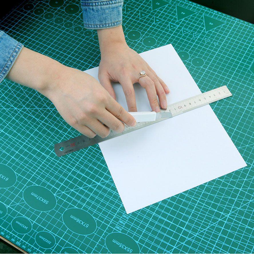 A1/A2/A3/A4 Pvc tapis de coupe auto-guérison tapis de découpe Patchwork outils artisanat planche à découper de coupe tapis pour quilting