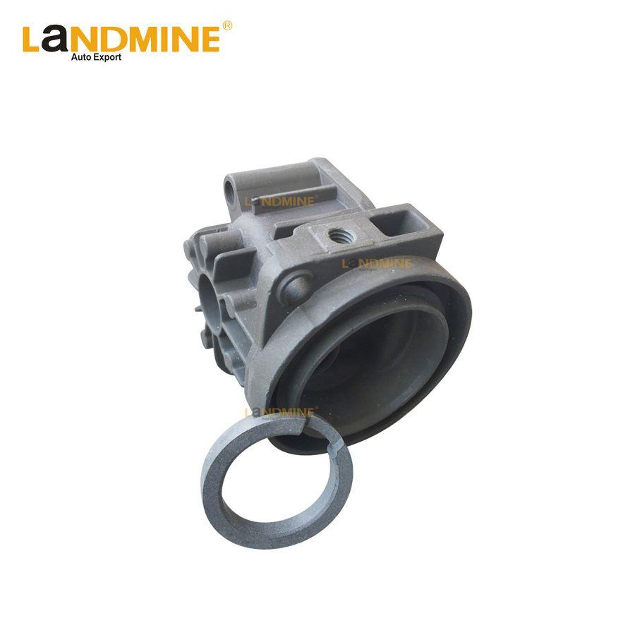 Air Suspension Pump Compressor Cylinder Head With Ring For E53 W211 W220 E65 E66 C5 C6 C7 A8 Phaeton LR2 XJ6 2203200104