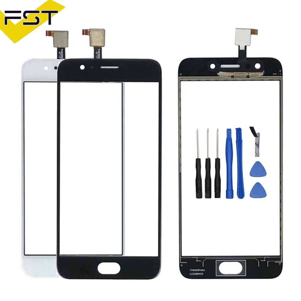 5.0 inch For UMIDIGI C2 Touch Screen Glass 100% Guarantee Brand New Glass Panel Touch Screen For UMI C2+ tools+Adhesive