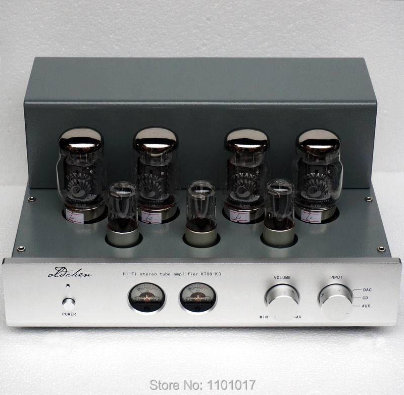 LaoChen K3 KT88 Push-Pull Rohr Verstärker HIFI EXQUIS AIQIN 45Wx2 Klasse A handgemachte Gerüste amp OCK3 OldChen