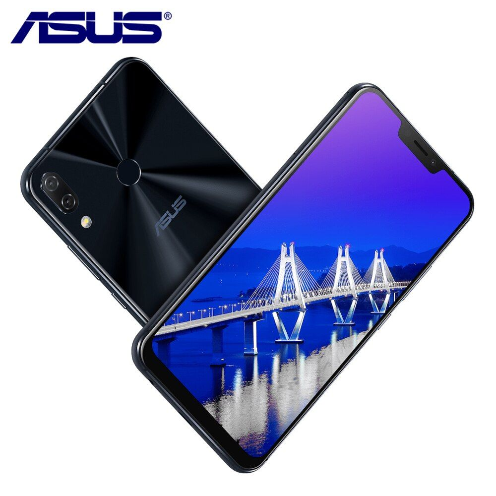 New ASUS Zenfone 5 ZE620KL 6.2 AI Camera 19:9 Snapdragon 636 Android 8.0 Type-C Bluetooth 5.0 64G ROM 4G RAM LTE Mobile Phone