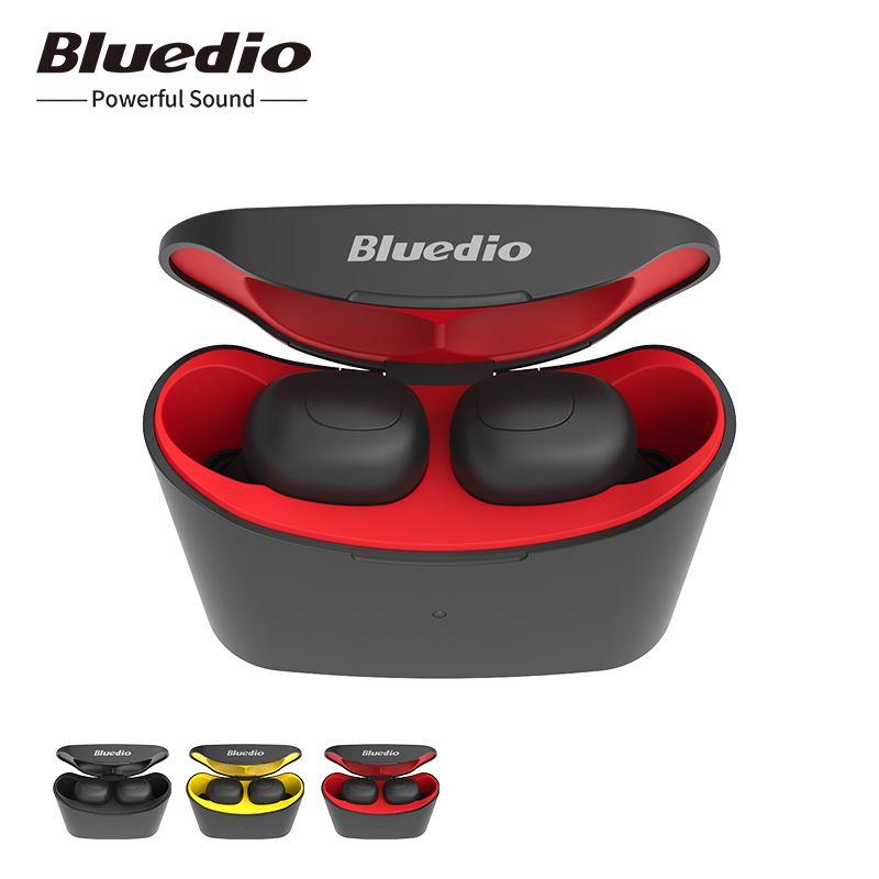 Bluedio T-elf mini Air pod Bluetooth 5.0 Sports Headset Wireless Earphone with charging box