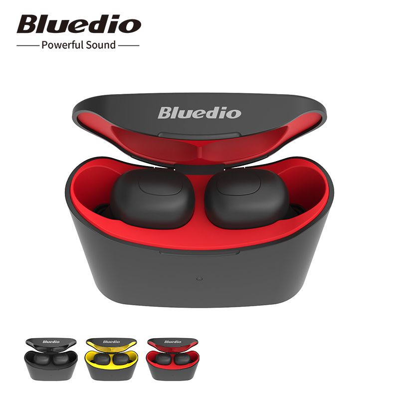 Bluedio T-elf mini Air pod Bluetooth 5.0 Sports Headset Wireless Earphone with charging box