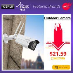 KERUI Full HD 2MP 1080 P Водонепроницаемая WiFi ip-камера наблюдения наружная камера безопасности ночного видения Облачное хранилище CCTV камера