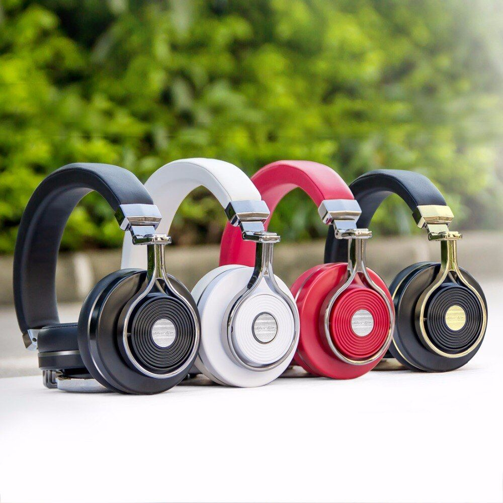 Original Bluedio T3 Bluetooth Headphone Bass Foldable Bluetooth Wireless Headset with Built-in Microphone For Cell Phone