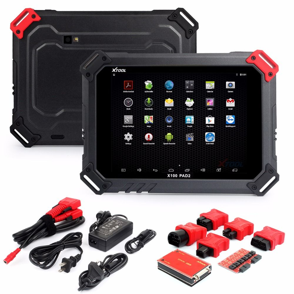 2018 New XTOOL X100 PAD2 With EPB EPS OBD2 Adjust Odometer Auto Key Programmer XTOOL X100 PAD2 Better than X300 Pro3 Free Update