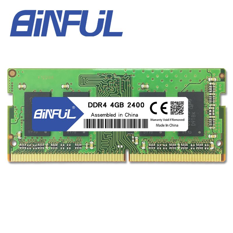 BINFUL DDR4 4GB 2400MHz Low Voltage 1.2v Sodimm Memoria Laptop Memory Notebook Ram High Quality