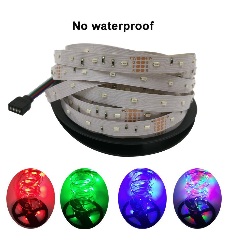 5m LED strip light RGB led tape diode 5m LED Strip Red / Blue / Green / Yellow Rope Light LED strip