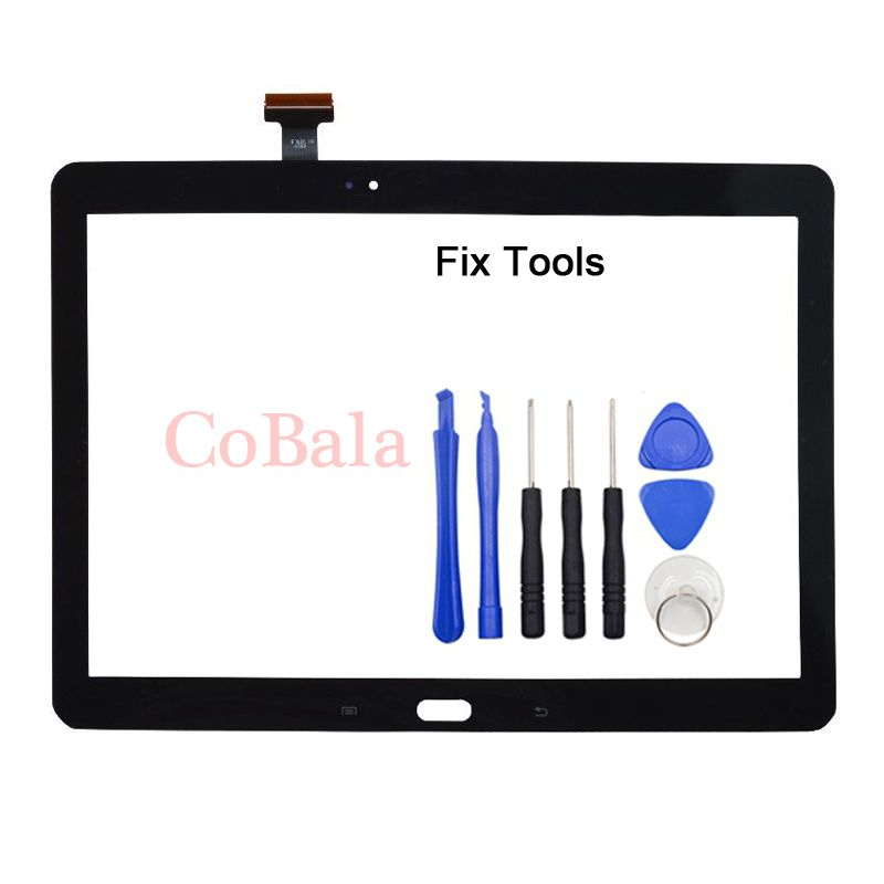 1Pcs For Samsung Galaxy Note 10.1 2014 Edition P600 P601 P605 P607 Touch Screen Digitizer LCD Outer Front Glass Sensor+Tools
