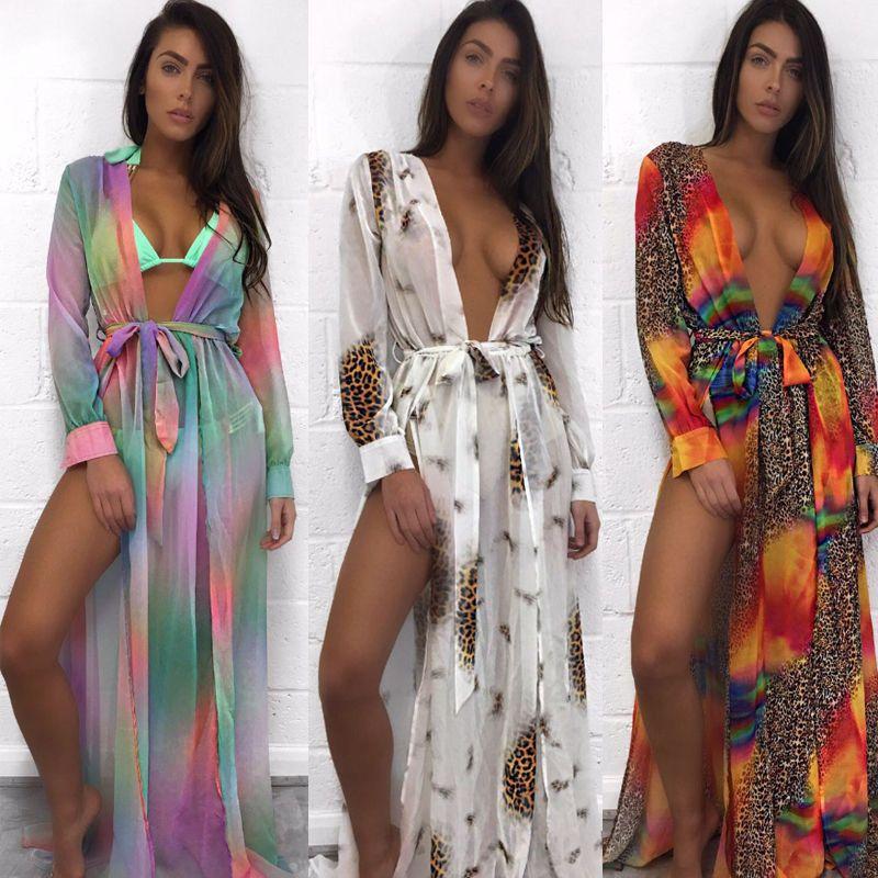 2017 Sexy Plage Cover Up Plage Robe Tunique Paréos Pour femmes Kaftan Plage Saida De Praia Plaj Elbiseleri Brin Vertuschung Robe