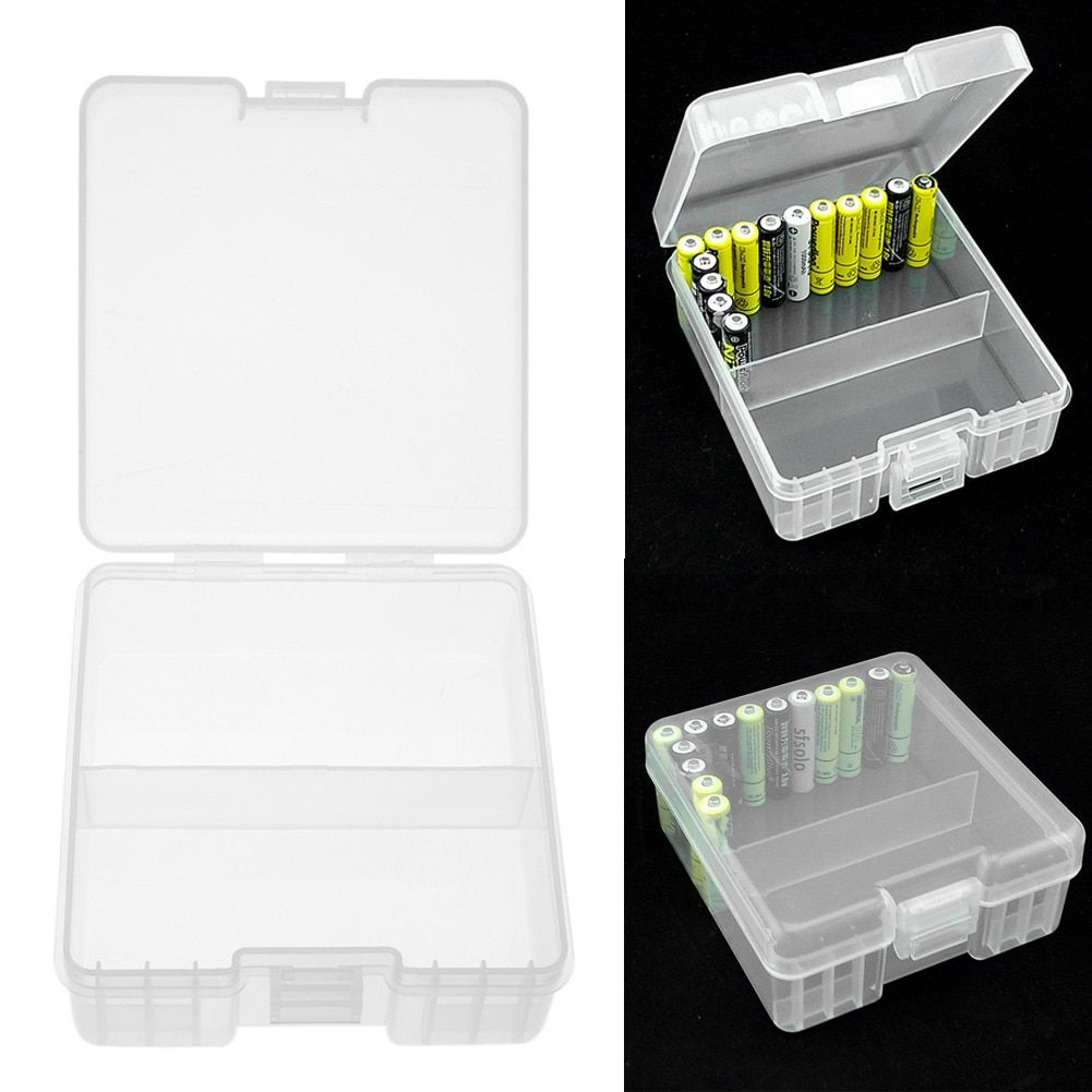 Large capacity Battery Storage Box Case Holder for Containing 100pcs AAA Batteries 117*110*48mm